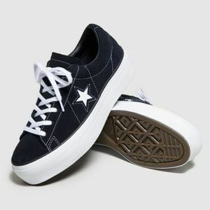 Converse One Star Platform Sneakers